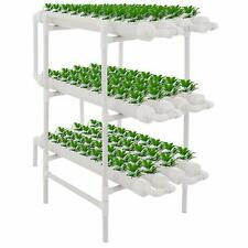 108 Plant Site Hydroponic Grow With Flow Deep Water Culture Garden System