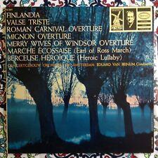 Beinum Sibelius Finlandia Valse Triste LP Epic LC 3477 NM