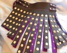 Handmade Leather Warrior Skirt. Any Size &  Colour. Bondage,fetish FC23b