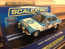 Scalextric mk1 FORD ESCORT RS 1600 no13 1973 RAC RALLY (c3029) * New *
