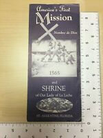 Vintage Brochure America's First Mission Nombre de Dios and Shrine St. Augustine