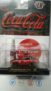 M2 Machines Coca Cola 1970 Nissan Fairlady Z432 9600pcs (NG12)