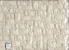 """Castle Stone - Brown miniature sheet 1/12 scale Model Builders MBCBL-12 14""""x24"""""""