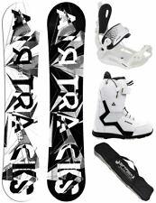 AIRTRACKS Femmes Set de Snowboard Bwf + Fixation Master + Bottes + Sb Sac / 140