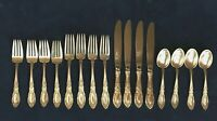 KING RICHARD by Towle, 1932 Sterling Silver Flatware 16 Pieces Service for 4