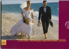Nederland 1 cent / 2 euro 2003 : Huwelijksset
