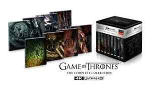 Game of Thrones Complete Collection/Series 8x Steelbooks, 33x 4K Discs +Digital