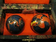Fair Offers Accepted cloisonne asian phoenix harmony coordination balls Steel