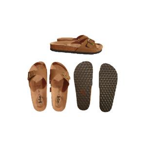 Lee Cooper sandale femme confort camel