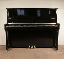 More details for karl muller upright piano for sale with a black case. 12 month warranty