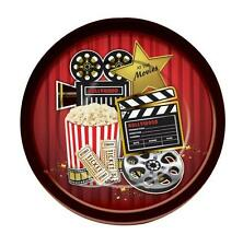 "DINNER PLATE 9"" HOLLYWOOD AWARDS OSCARS AT THE MOVIES THEMED PARTY DECORATIONS"