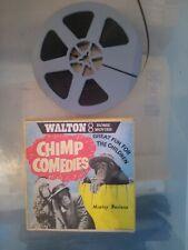 Walton Home Movies Super 8 Film Reel Chimp Comedies Monkey Business 1960s Vintag