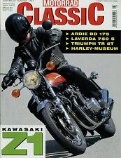 Motorrad Classic 3/03 2003 Ardie BD 175 Kawasaki Z1 Laverda 750 S Triumph TR 5T