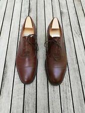 J.M.WESTON Brown Oxfords Men's Shoes 9.5 (with original last)