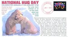 """COVERSCAPE computer designed """"National Hug Day"""" 2016 event cover"""