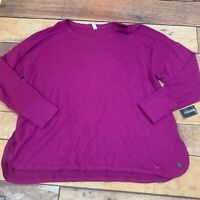 Ideology Womens Sweatshirt Sweater Plus Size 3X New NWT I208