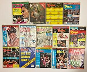 The Ring, Boxing Magazines from 1977 1978 1979 Muhammad Ali George Foreman