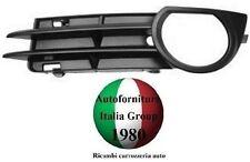 GRIGLIA PARAURTI ANTERIORE C/FORO FENDINEBBIA SX AUDI A3 5P 03>08 2003>2008