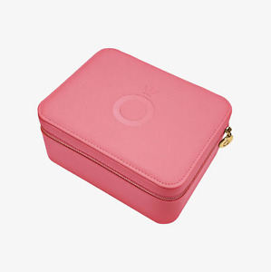 Authentic PANDORA Pink O Jewellery Box Case