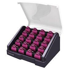 Remington H9096B T|Studio Silk Ceramic Heated Clip Setter 20-Count Hair Roller