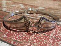Admiral - 1918 Vintage Silver Plated Silverware/Flatware Spoon Bracelet