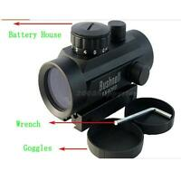 Tactical Holographic Reflex Green Red Illuminated Dot Sight Scope w/ Mount 20mm