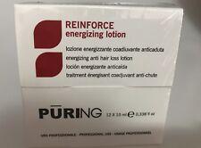 PURING REINFORCE LOZIONE ENERGIZZANTE ANTICADUTA PER CAPELLI 12 FIALE 10 ml