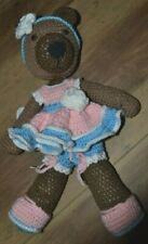 Hand crochet Teddy Bear soft toy