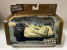 Forces of Valor Die Cast 1:72 U.S. M1A2 Abrams Baghdad 2003 New