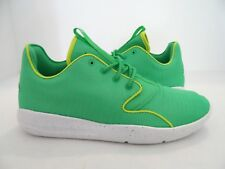 85191cd9e53a Jordan Nike Kids Eclipse GG Running Shoe Gamma Green White Size 6Y