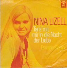 """NUR 7"""" COVER Nina Lizell Tanz`mit mir in die Nacht der Liebe ONLY 7"""" COVER"""