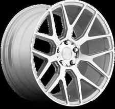 Niche Intake M160 20X9 5X120 +35 Silver Rims Fits E90 E93 325 328 335 Wide Body