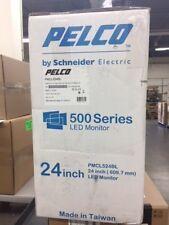 "PMCL524BL Pelco 24"" LED 24/7 security monitor BNC HMDI VGA Schneider Electric"
