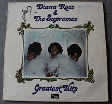 Diana Ross & The Supremes, greatest hits - best of, LP - 33 tours