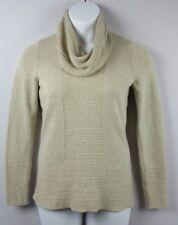Calvin Klein Womens Sweater Cowl Neck Long Sleeve Small