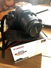 Canon EOS Rebel XS / 1000D 10.1MP Digital SLR Camera - Black (Kit w/ EF-S IS 18-
