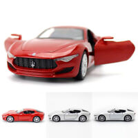 1:36 2014 Maserati Alfieri Model Car Diecast Gift Toy Vehicle Kids Collection