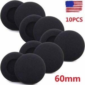 10x Ear Pads Replacement Foam Cushion Sponge Cover Headphones Earphones Headset