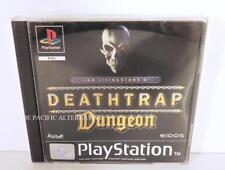 jeu DEATHTRAP DUNGEON pour Playstation 1 ps1 psx en francais complet game spiel