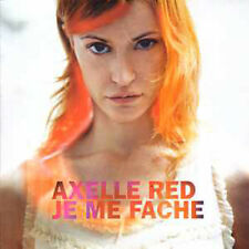 CD single Axelle RED Je me fache 3 Track card sleeve EU