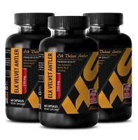 Energy vitamin pills - ELK VELVET ANTLER 550MG 3B - elk antler velvet extract