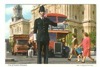 City Of London Policeman England Unused Vintage Postcard EB59