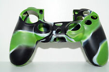 VERDE #6 PLAYSTATION 4 ps4 IN SILICONE CONTROLLER JOYPAD Custodia Protettiva Cover Skin Case