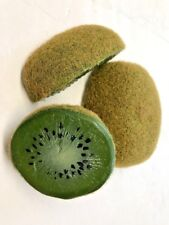 Artificial Kiwi Wedges 3, Fake foods Vegetables
