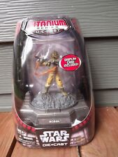 Hasbro Star Wars Titanium Series  Bossk With Display Case Action Figure