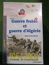 """LIVRE sur l'aviation """" GUERRE FROIDE et GUERRE D'ALGERIE """""""