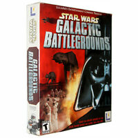Star Wars: Galactic Battlegrounds [Big Box] [PC Game]