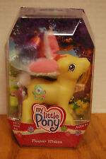 NEW My Little Pony G3 FLOWER WISHES Easter Bunny Ears Figure 2006 Hasbro SEALED