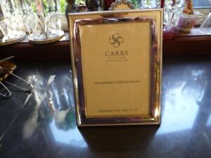 Carrs sterling silver Picture frame