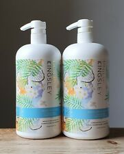 NEW HUGE PHILIP KINGSLEY COCONUT BREEZE SHAMPOO AND CONDITIONER 1000ml free p&p